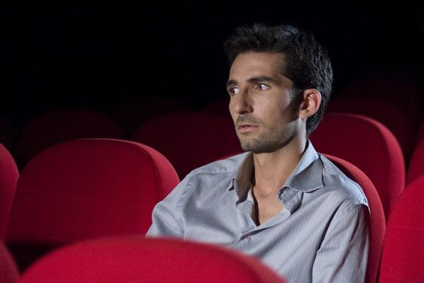 Comédien sur le tournage de Gwenaël Baudic pour le printemps du cinéma en 2010