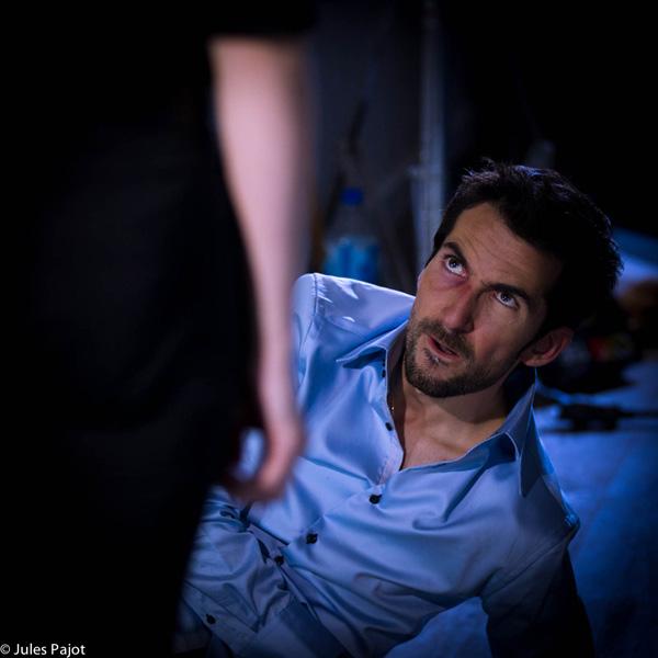 « La page blanche », je ne suis pas content là... Photo de Jules Pajot. 2011