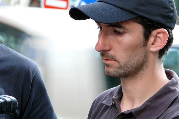 Photo de Tony Duarte, sur le tournage de mon 2e court métrage en tant que réalisateur « Travailler plus... », en 2006